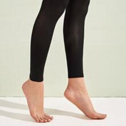 Womens Footed  Tights by Romwe