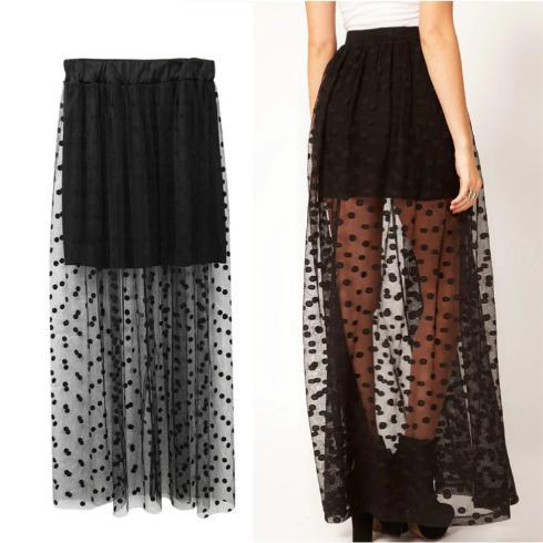 Tulle Short Skirt In Skirt One Size