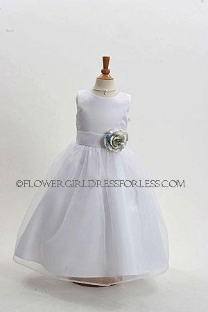 Girls Flower(s) Flower-Girl Dress