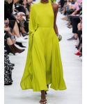 Plus Size Vintage Pocketed Sleeveless Summer Dress